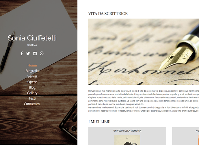 Sonia Ciuffetelli - Scrittrice
