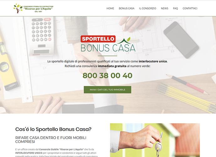 Sportello Bonus Casa